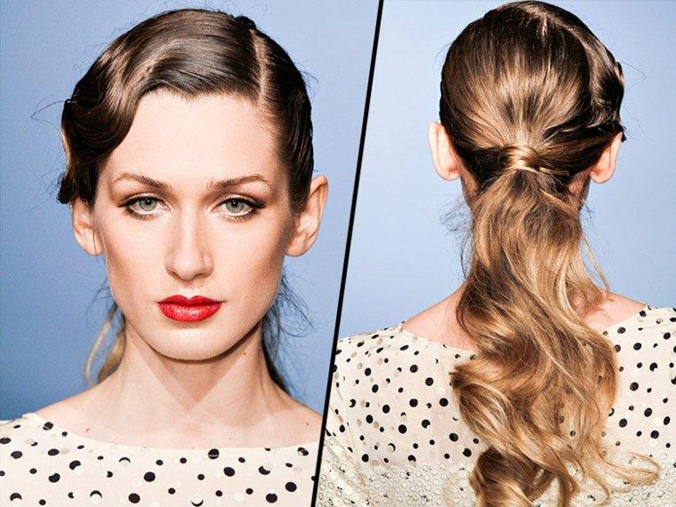 coiffure-femme-ponytail-retro-luisa-beccaria-vintage