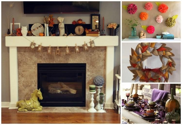 Un décor d'automne DIY