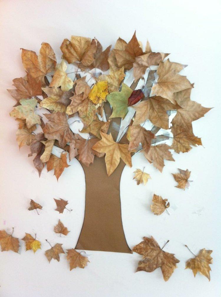 Un d cor d automne diy la maison diy - Activite manuelle a faire a la maison ...