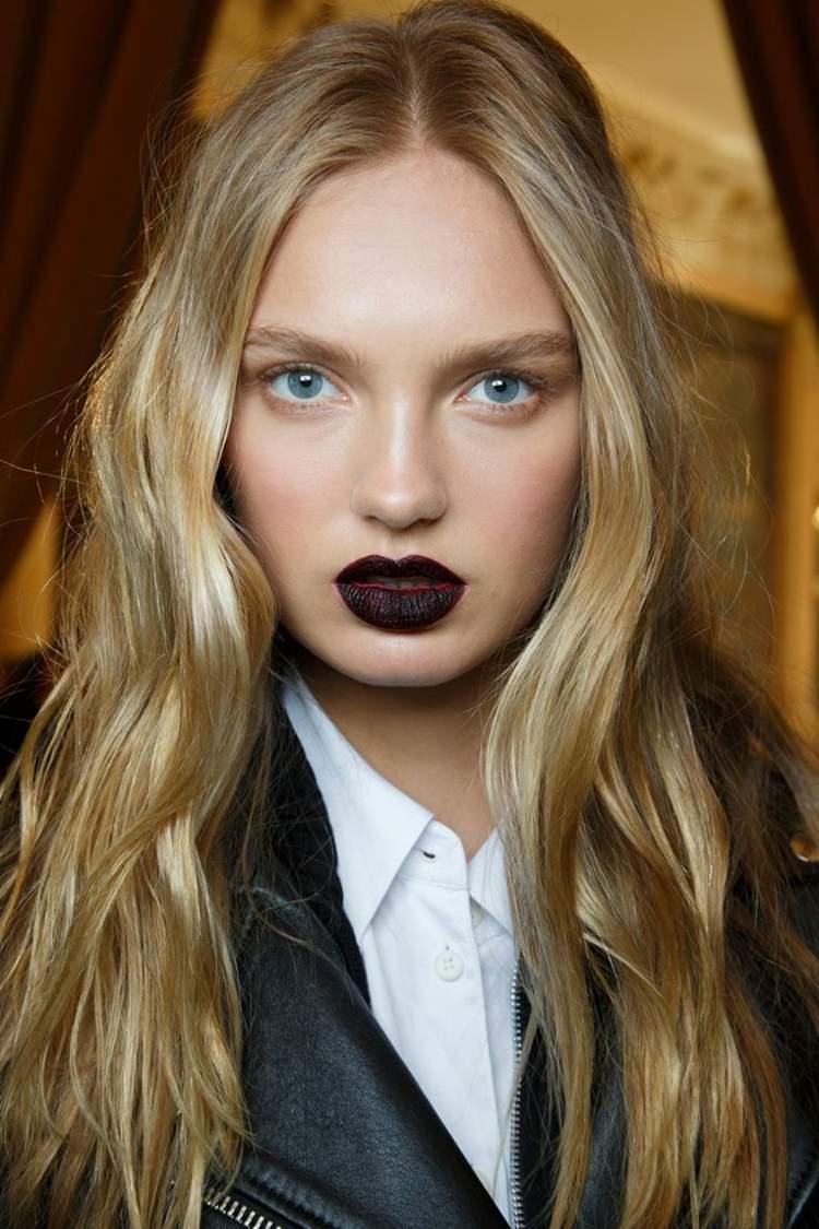 maquillage-automne-2015-levres-fonces