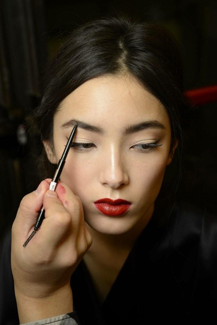 maquillage-automne-idee-Dolce-Gabanna