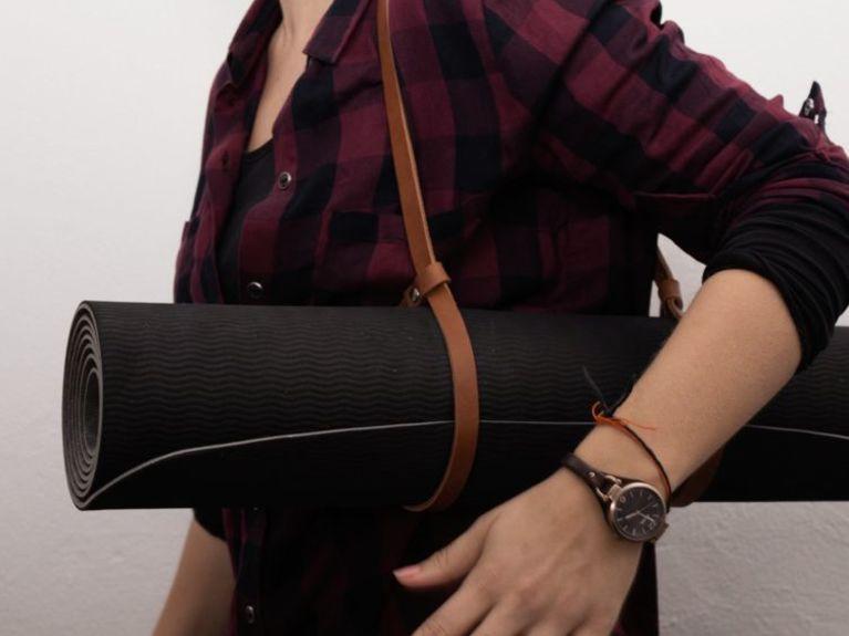 Fabriquer un porte-tapis de gym en cuir en 5 minutes