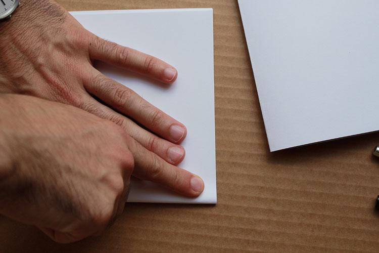 carnet de notes avec couverture en tissu 2