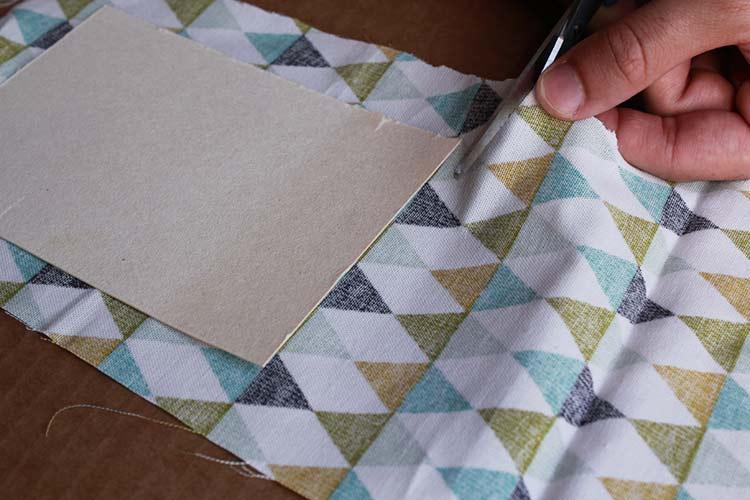 carnet de notes avec couverture en tissu 6