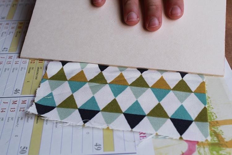 carnet de notes avec couverture en tissu 8