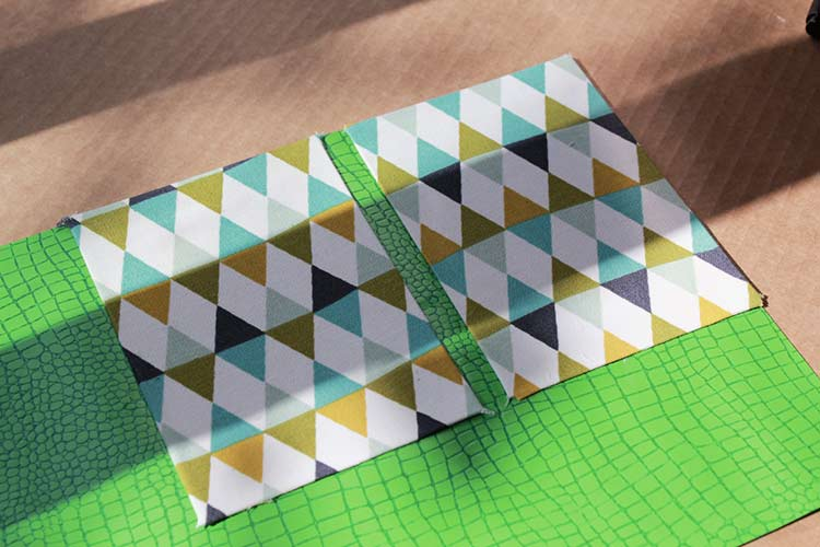 carnet de notes avec couverture en tissu 9