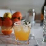 Préparer un cocktail hivernal aux mandarines