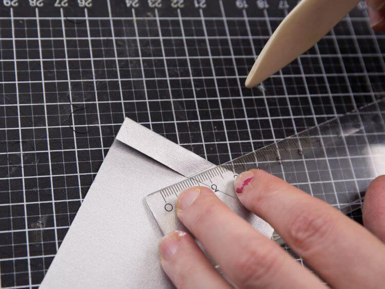 boule de Noël en origami 4
