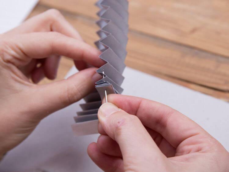 boule de Noël en origami 6