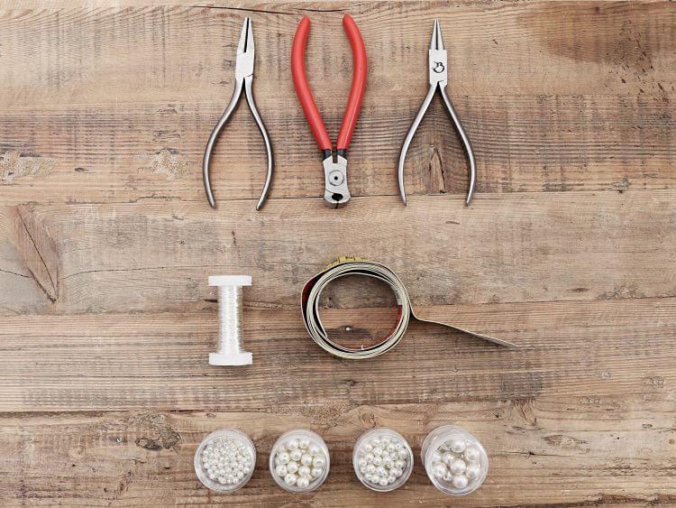 bijou pour cheveux en perles 1