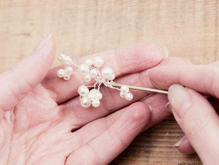bijou pour cheveux en perles 10