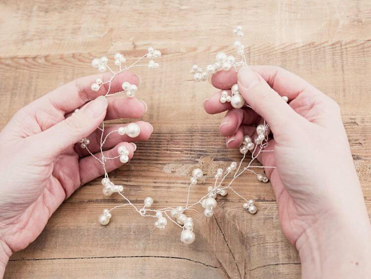 bijou pour cheveux en perles 9