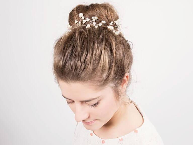 Créer un bijou pour cheveux en perles
