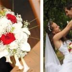 cr er des vases aux couleurs de votre mariage la maison diy. Black Bedroom Furniture Sets. Home Design Ideas