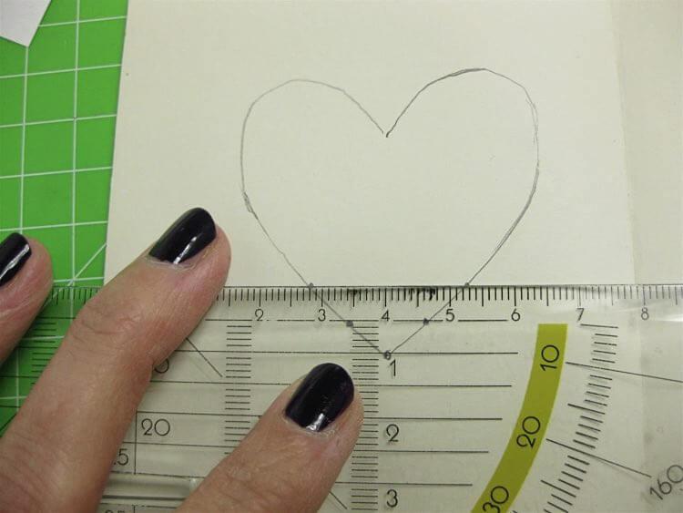cœur sur un carnet 3