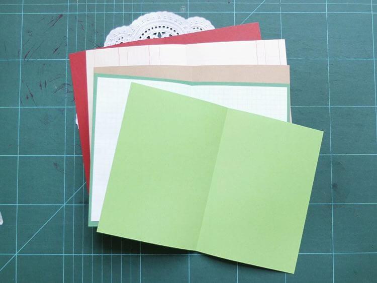carnets de notes en papier recyclé 5