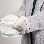 Réaliser des maniques anglaises au crochet