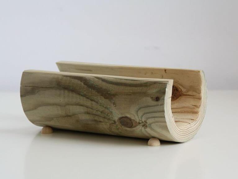 Fabriquer un porte-lettre en bois minimaliste