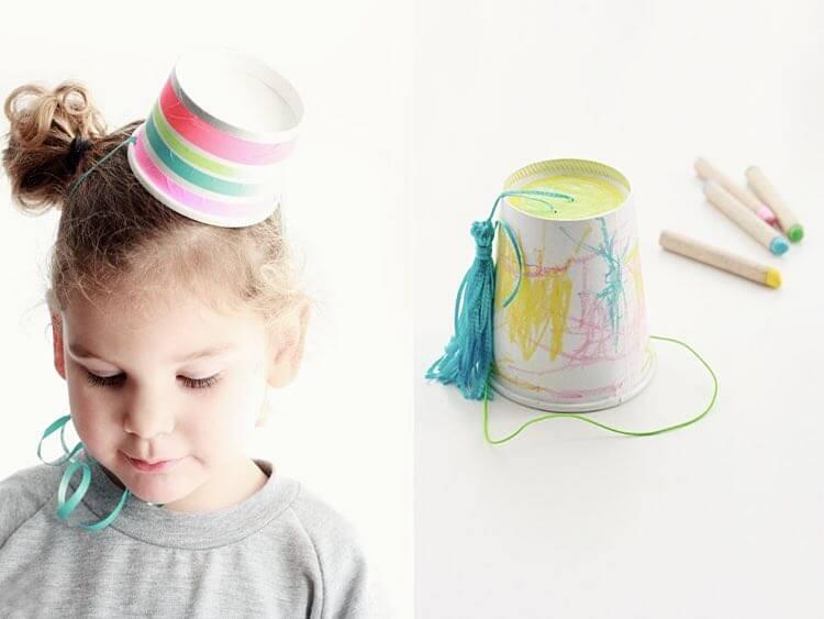 chapeaux de fête