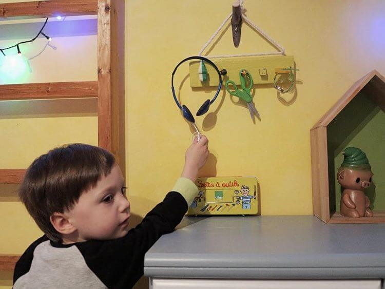 patère pour chambre d'enfant 2
