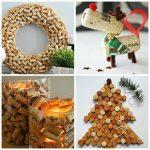 Bricolage de Noël facile : 13 idées avec bouchon liège