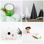 Bricolage de Noël adulte et déco de table basse pour la fête