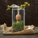 Fabriquer une décoration de Pâques en bocal