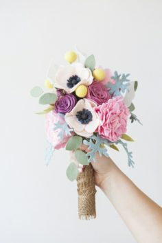 Bouquet de mariage pérenne – un tutoriel