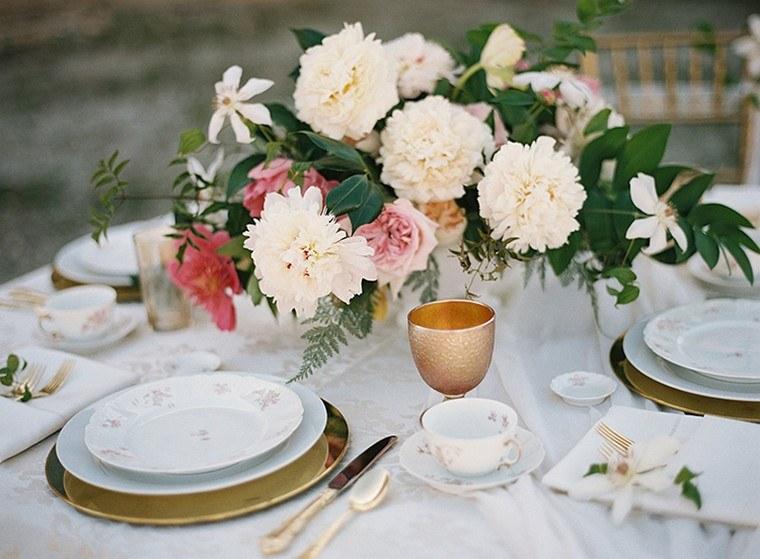 déco table fleurs idée fête de pâques idées originales
