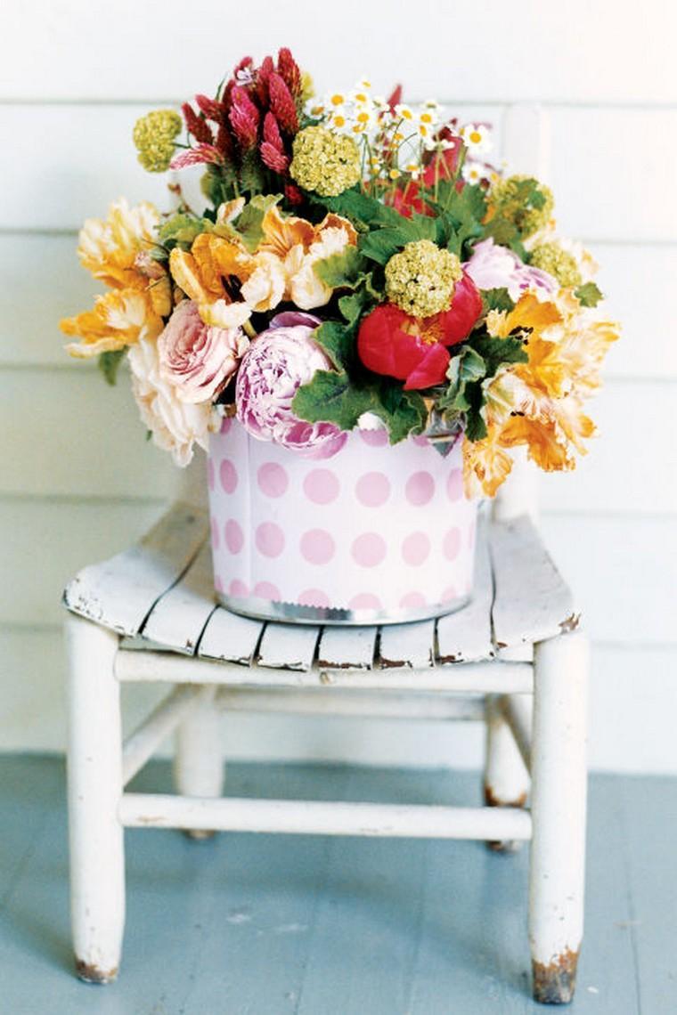 bouquet déco idée paques extérieur intérieur maison déco espace