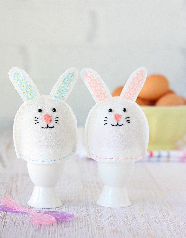 déco paques à fabriquer soi meme idée lapins oeufs déco espace moderne