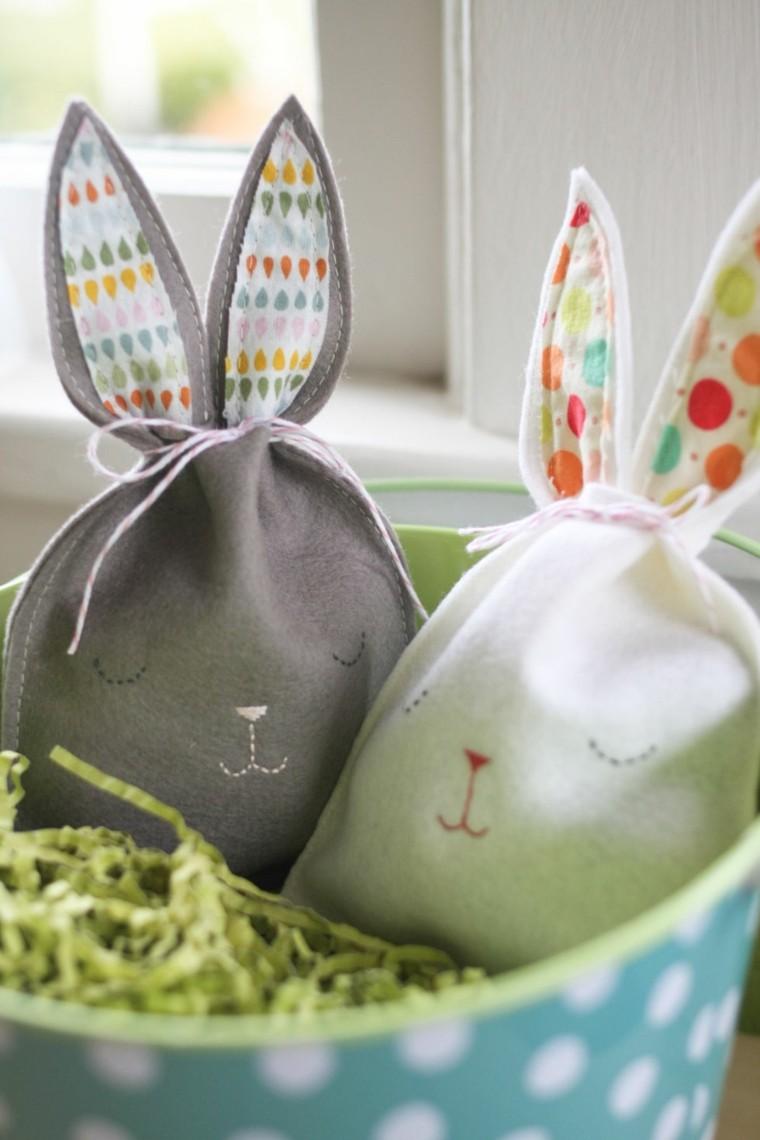 joyeuses pâques sacs lapin de pâques remplis surprises