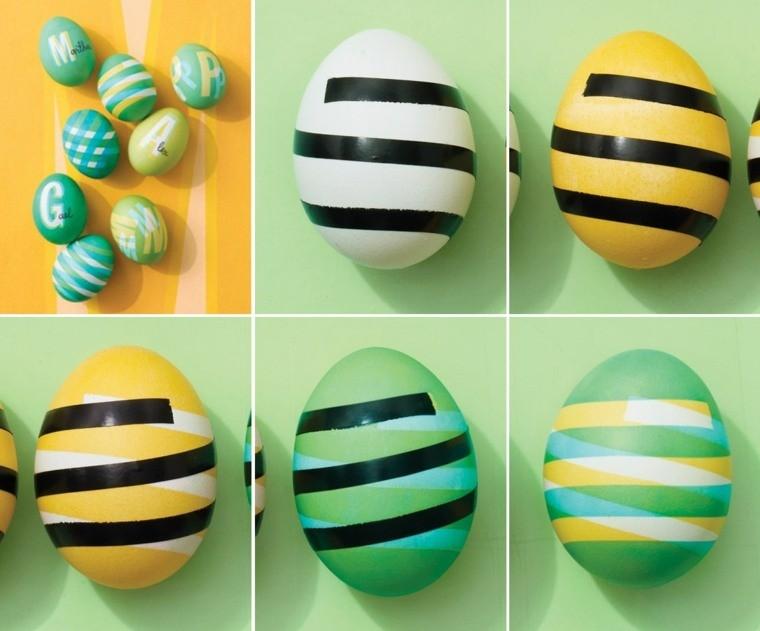oeufs de pâques faire soi-même design printemps