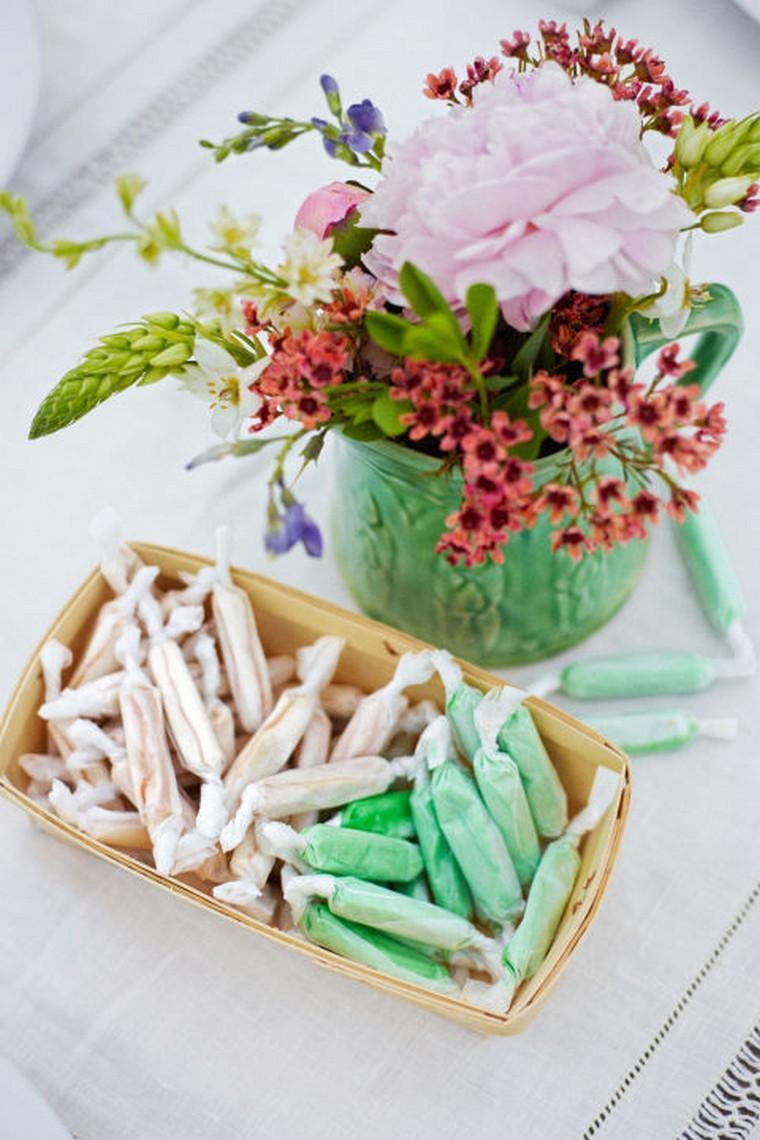 déco idée paques table diy bouquet de fleurs idée intérieur table déco