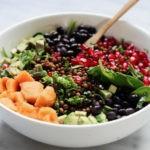 Préparer une salade vegan aux haricots