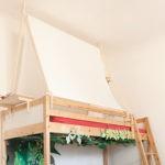Fabriquer une tête de lit en bois avec une porte La