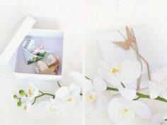 Faire un cadeau de mariage DIY inspiration papillon