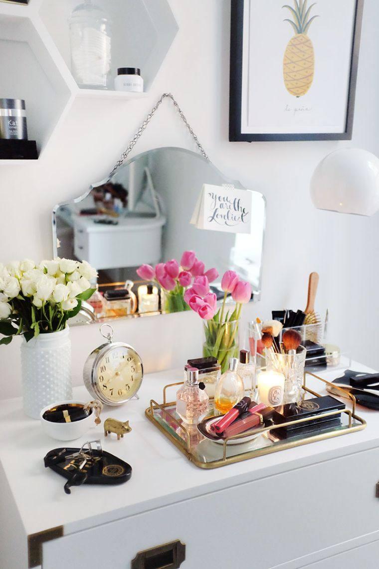 diy rangement chambre pour articles de mode et de beauté - la maison diy