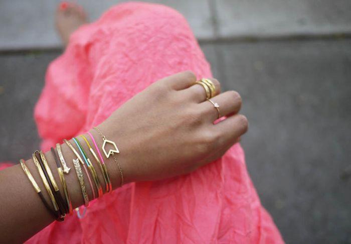 exemple de bracelet diy metal accessoire tutoriel