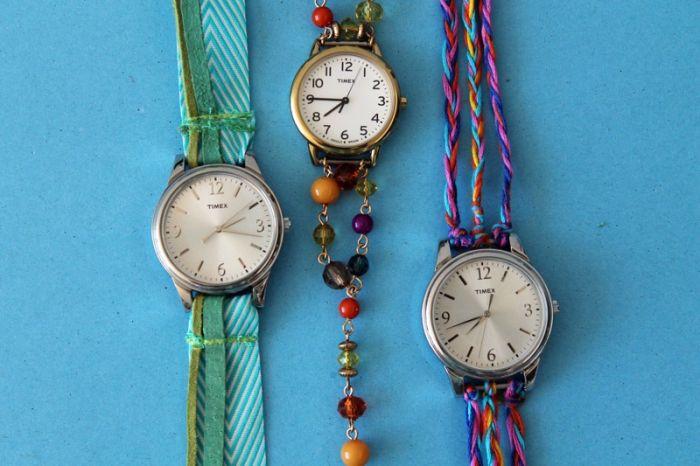 bracelet montre maison diy accessoires a faire