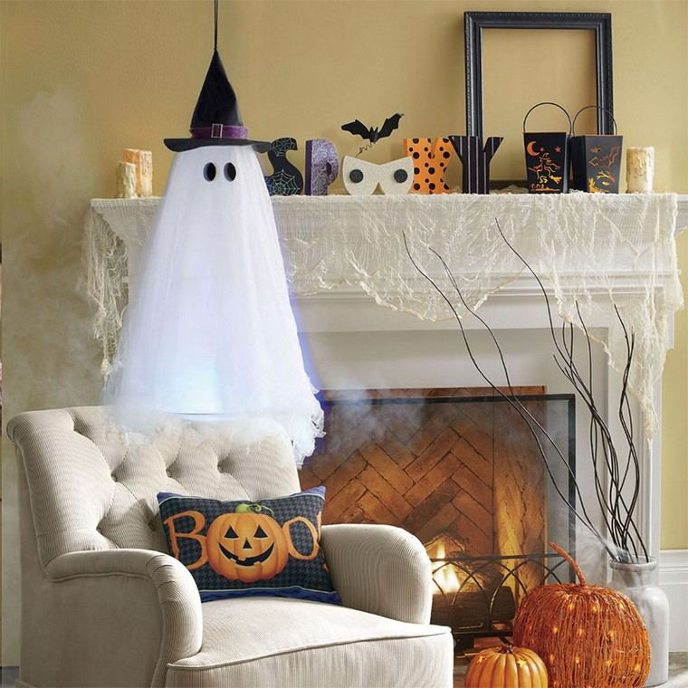 cheminee-deco-halloween-idees
