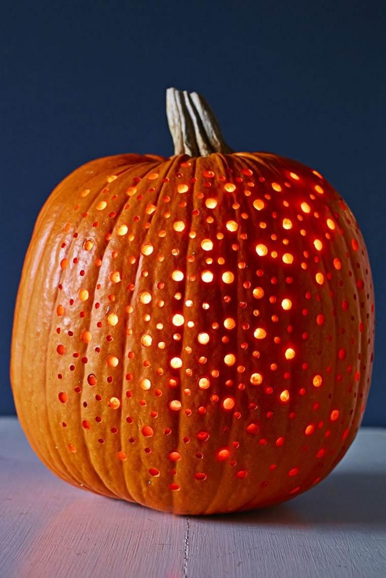 déco automne pas cher citrouille idée bougie lanterne
