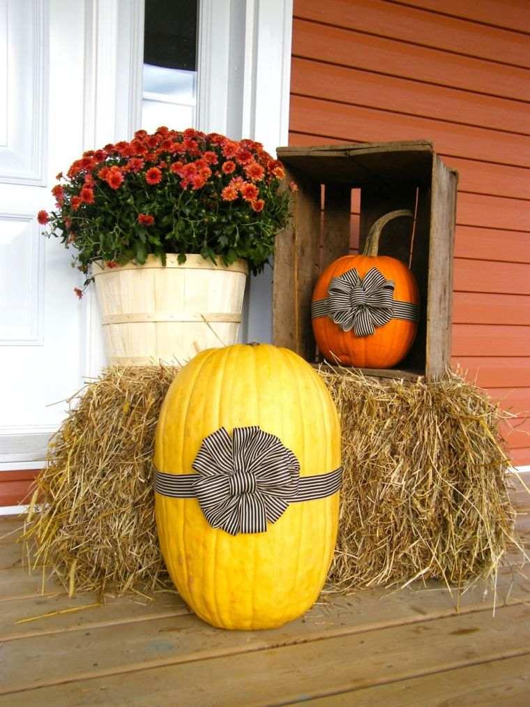 déco citrouille halloween automne-idee-decoration-facile