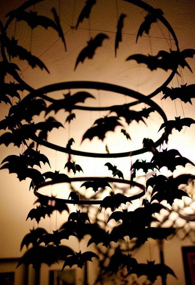 Déco Halloween à fabriquer soi-même en quelques idées effrayantes chauve-souris