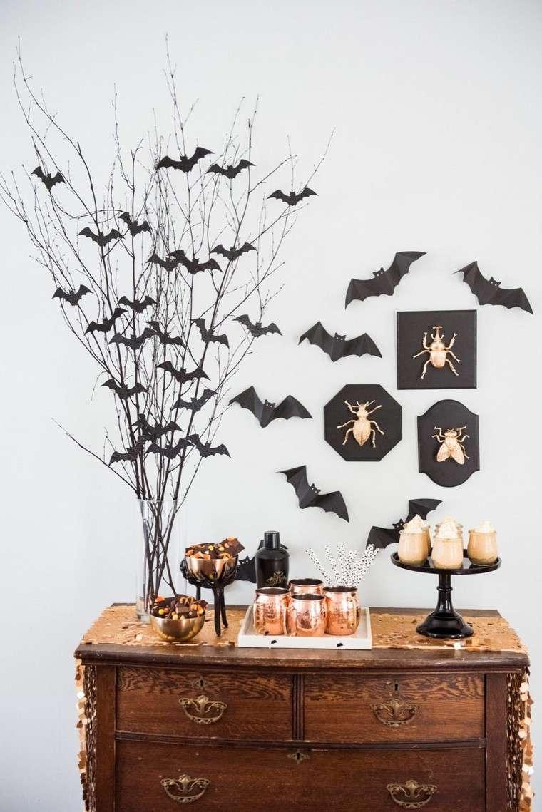 Déco Halloween à fabriquer soi-même en quelques idées effrayantes commode