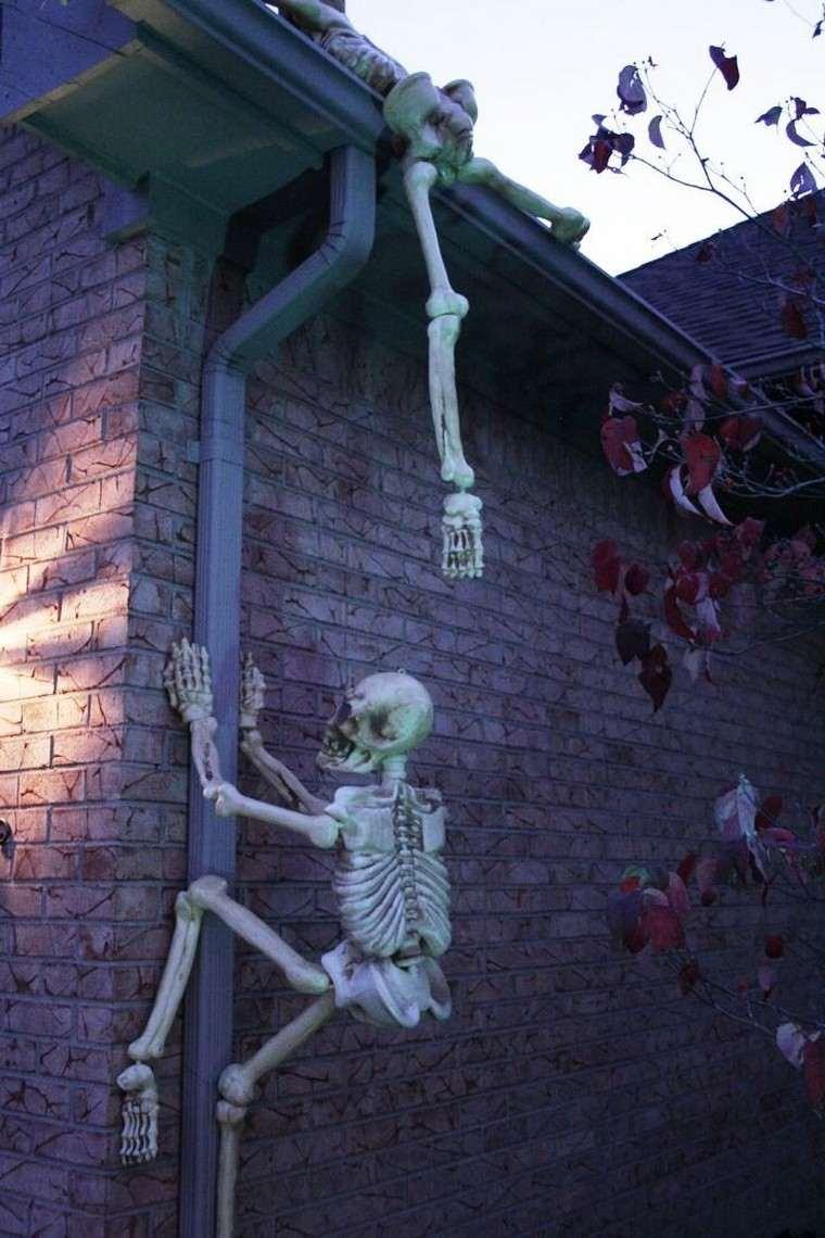 Déco Halloween à fabriquer soi-même en quelques idées effrayantes extérieur