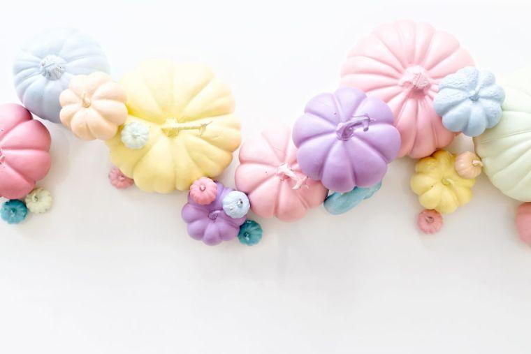 decoration-citrouille-halloween-peinture-pastel