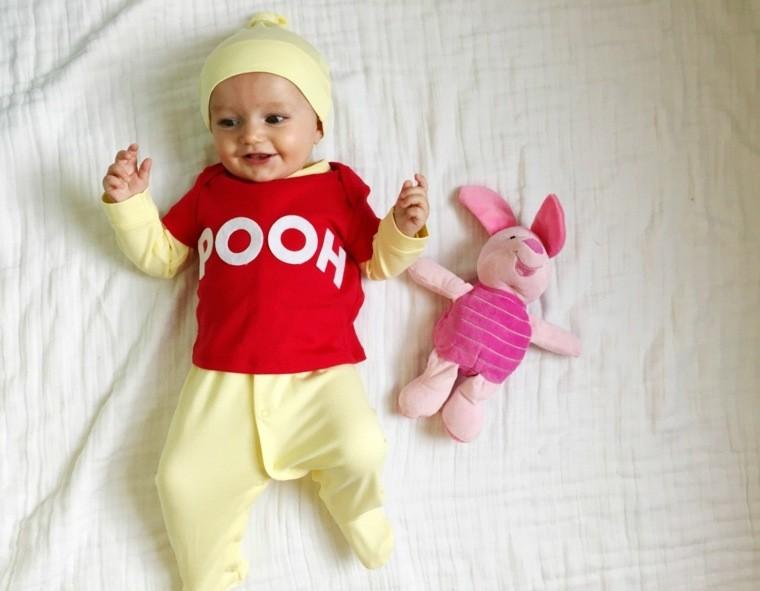 diy baby halloween costumes Winnie-ourson