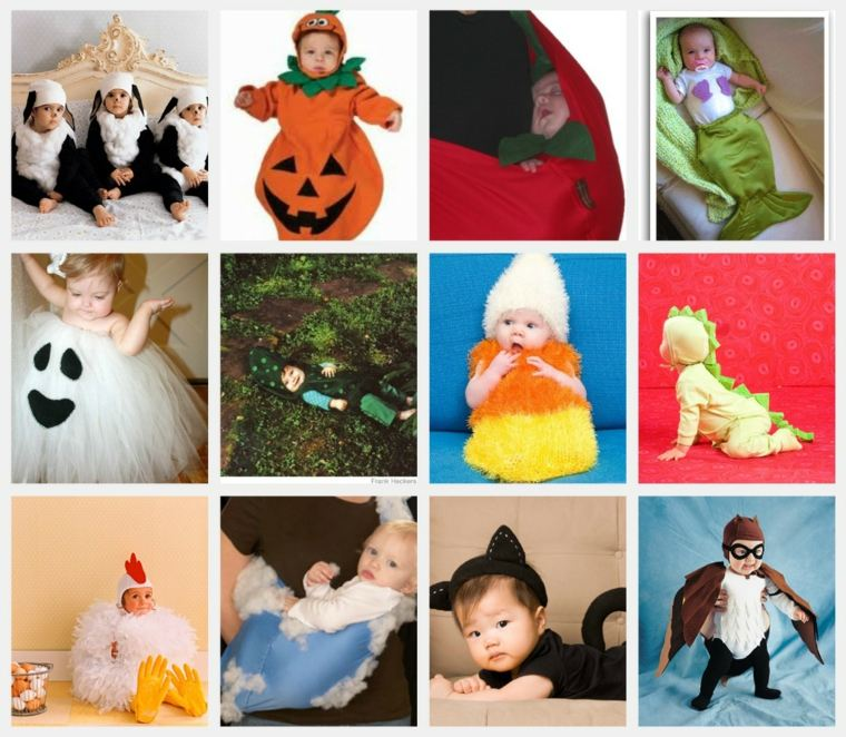 diy baby halloween costumes idees