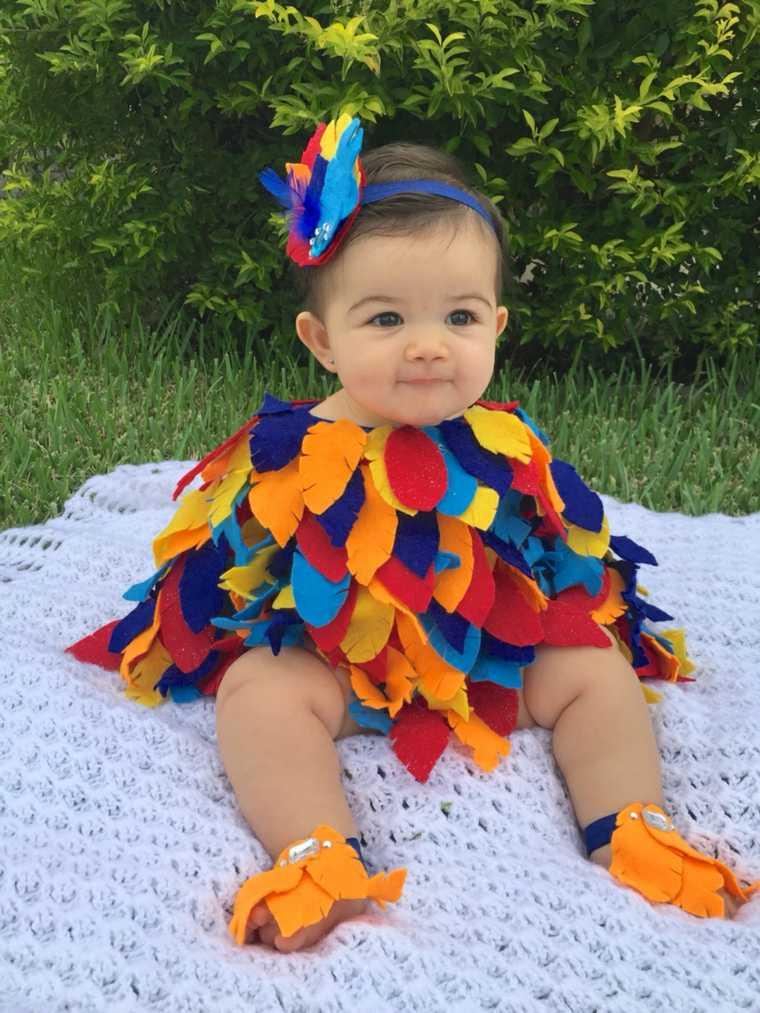 diy baby halloween costumes oiseau